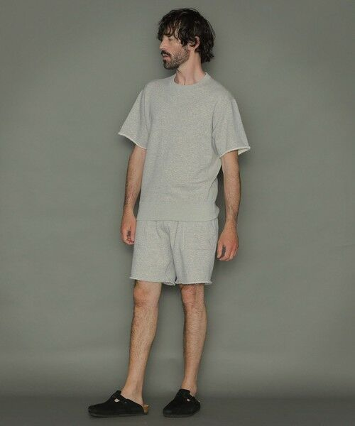 MACKINTOSH LONDON(MENS) / マッキントッシュ ロンドン  メンズ カットソー | ◆◆リバーシブル吊り裏毛ショートパンツ | 詳細6