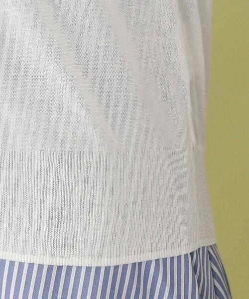 MACKINTOSH PHILOSOPHY / マッキントッシュ フィロソフィー ニット・セーター | 【ウォッシャブル】コットンアセテート ドルマンカーディガン | 詳細18
