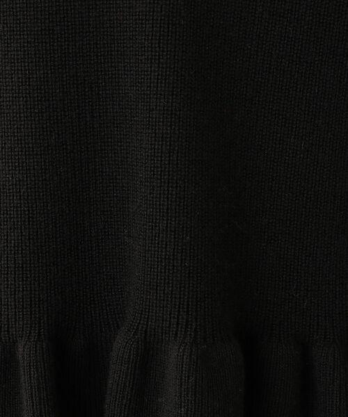 MACKINTOSH PHILOSOPHY / マッキントッシュ フィロソフィー ニット・セーター | ソフトペプラムプルオーバー | 詳細11