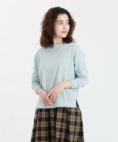 GREY LABEL コットンニットTシャツ<br /><br />綿素材のシンプルなニットTシャツ。ボックスシルエットで身幅が広く、抜け感があります。サイドスリット入りなので、インでもアウトでも合わせやすいバランスです。ジャケットのインナーとしての着用もおすすめです。<br /><br />ソフトな風合いで毛羽が少なく、程よい光沢感がある素材を使用しています。<br /><br />※水洗い可能<br /><br />マッキントッシュ フィロソフィーのグレーラベルは、男女でシェアできるユニセックスのアウターウェアや、同じ柄を使った男女それぞれのアイテムなど、ユニセックスなムードの軽やかなコレクションです。<br><br>※この商品はサンプルでの撮影を行っています。<br>実際の商品とイメージ、サイズ、品質表示、原産国等が異なる場合がございます。<br /><br /><br><br>モデル:172cm B:72cm W:58cm H:86cm 着用サイズ:2サイズ