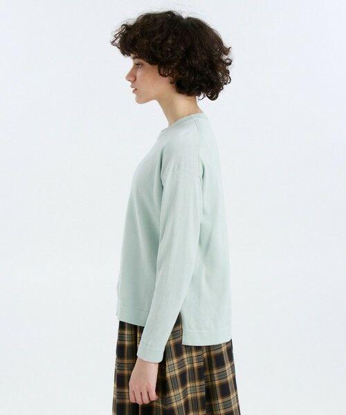 MACKINTOSH PHILOSOPHY / マッキントッシュ フィロソフィー ニット・セーター | ◆◆GREY LABEL コットンニットTシャツ | 詳細9