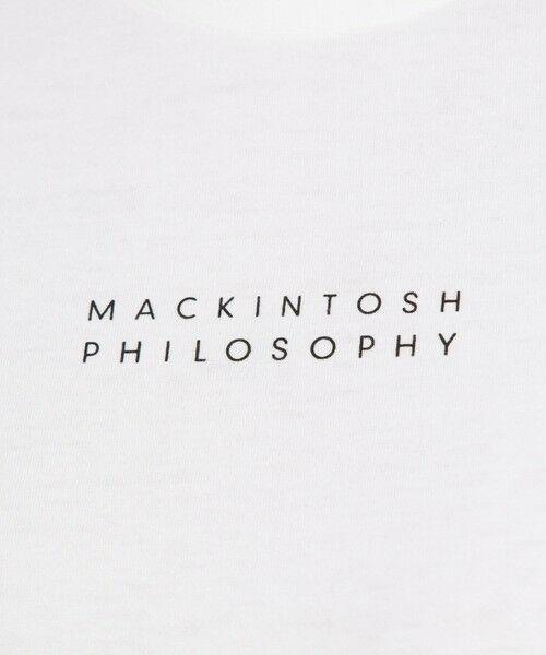 MACKINTOSH PHILOSOPHY / マッキントッシュ フィロソフィー カットソー | 【WEB限定】ロゴTシャツ | 詳細13