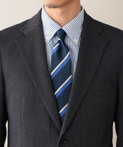 MACKINTOSH PHILOSOPHY(MENS) / マッキントッシュ フィロソフィー メンズ テーラードジャケット | TROTTER JACKET #051 変形ミニへリンボーン | 詳細9