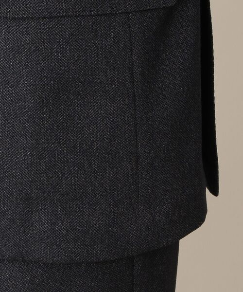 MACKINTOSH PHILOSOPHY(MENS) / マッキントッシュ フィロソフィー メンズ テーラードジャケット | TROTTER JACKET #051 変形ミニへリンボーン | 詳細11