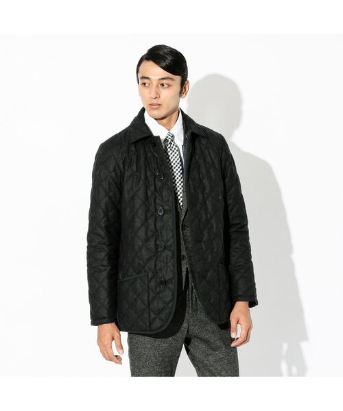 【LINGFIELD】  リバーシブルキルティングジャケット