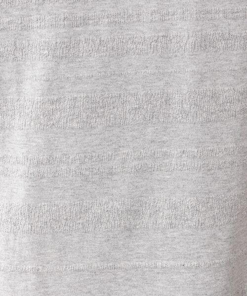 MACKINTOSH PHILOSOPHY (MENS) / マッキントッシュ フィロソフィー メンズ その他トップス   梨地×天竺ボーダー クルーネックT   詳細11