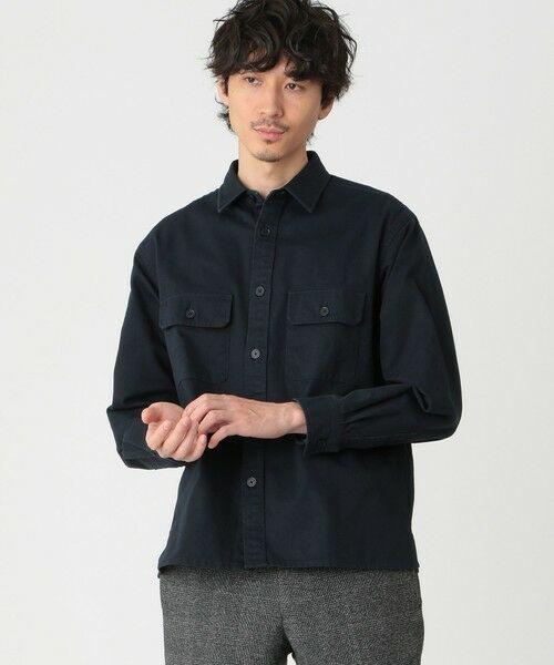 MACKINTOSH PHILOSOPHY(MENS) / マッキントッシュ フィロソフィー メンズ シャツ・ブラウス | CPOシャツ(ネイビー3)