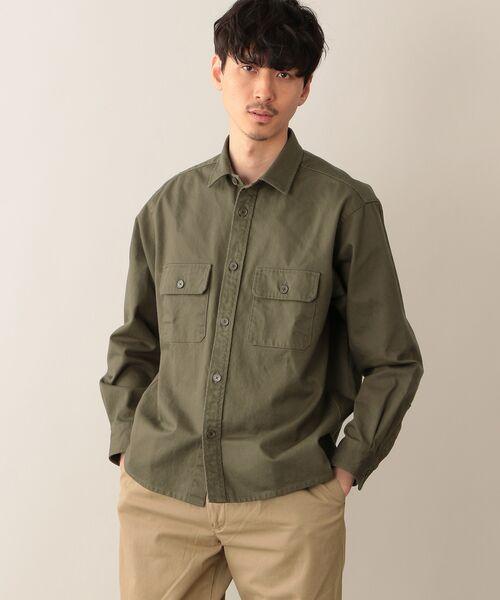 MACKINTOSH PHILOSOPHY(MENS) / マッキントッシュ フィロソフィー メンズ シャツ・ブラウス | CPOシャツ(カーキ2)