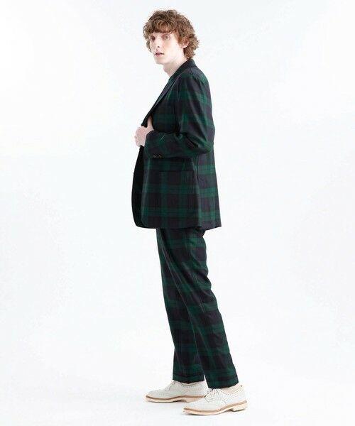 MACKINTOSH PHILOSOPHY(MENS) / マッキントッシュ フィロソフィー メンズ その他パンツ | MOON TWEED ERASTIC 1TUCK PANTS | 詳細2