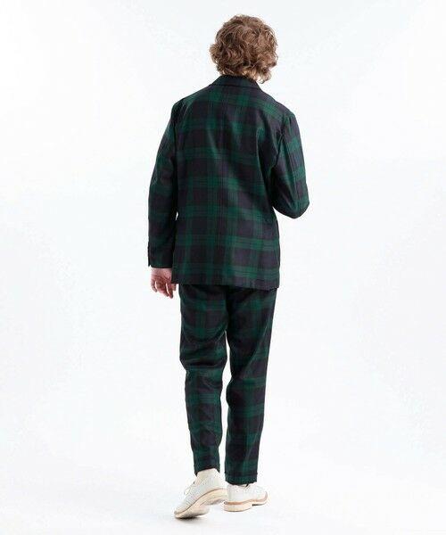 MACKINTOSH PHILOSOPHY(MENS) / マッキントッシュ フィロソフィー メンズ その他パンツ | MOON TWEED ERASTIC 1TUCK PANTS | 詳細3