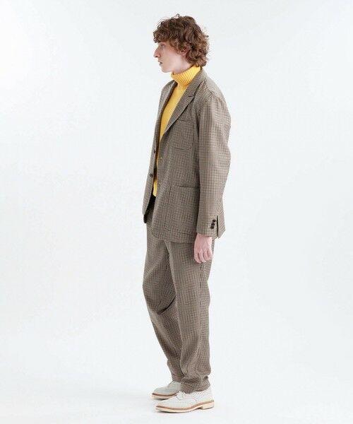 MACKINTOSH PHILOSOPHY(MENS) / マッキントッシュ フィロソフィー メンズ その他パンツ | MOON TWEED ERASTIC 1TUCK PANTS | 詳細5