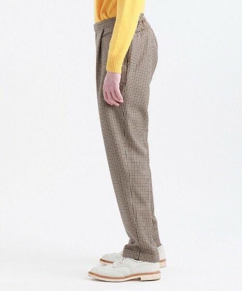 MACKINTOSH PHILOSOPHY(MENS) / マッキントッシュ フィロソフィー メンズ その他パンツ | MOON TWEED ERASTIC 1TUCK PANTS | 詳細8