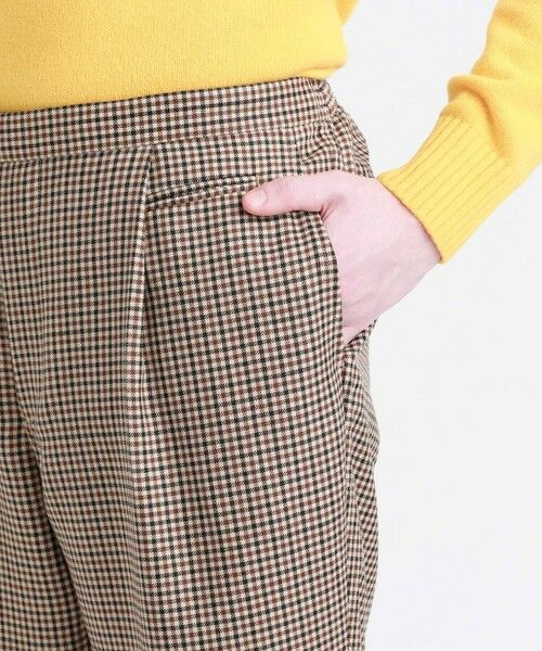 MACKINTOSH PHILOSOPHY(MENS) / マッキントッシュ フィロソフィー メンズ その他パンツ | MOON TWEED ERASTIC 1TUCK PANTS | 詳細12