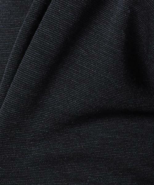 MADAM JOCONDE / マダムジョコンダ その他アウター | ウール混ポンチ ロングジャケット | 詳細7