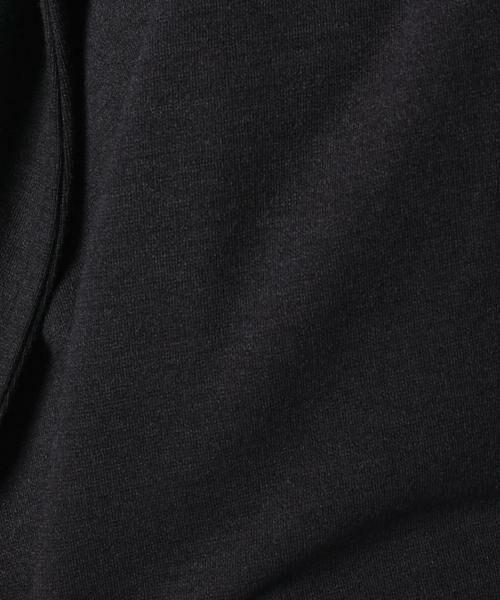 MADAM JOCONDE / マダムジョコンダ その他アウター | フード付きロングコート/ウール混ストレッチポンチ | 詳細7