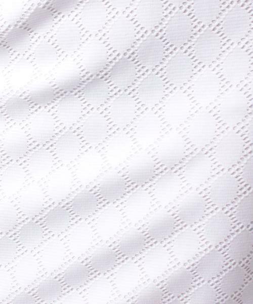 MADAM JOCONDE / マダムジョコンダ ミニ・ひざ丈スカート | 透かしジャガードジャージー スカート | 詳細5