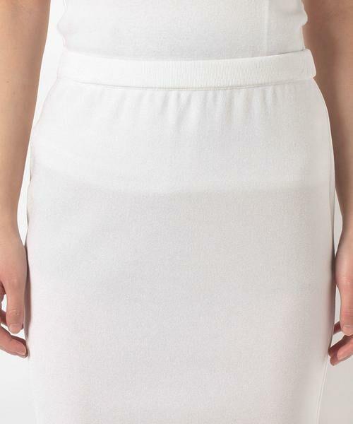 MADAM JOCONDE / マダムジョコンダ ミニ・ひざ丈スカート | ARINA ミラノリブ タイトスカート | 詳細3