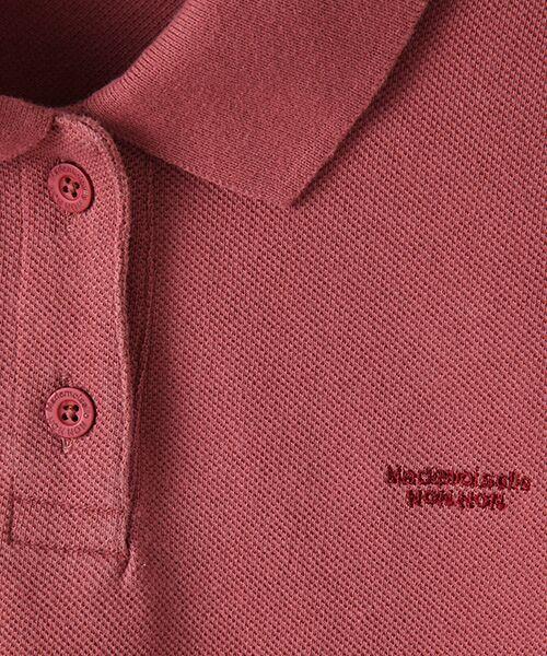 Mademoiselle NONNON / マドモアゼルノンノン ポロシャツ | コットンポロシャツ | 詳細3