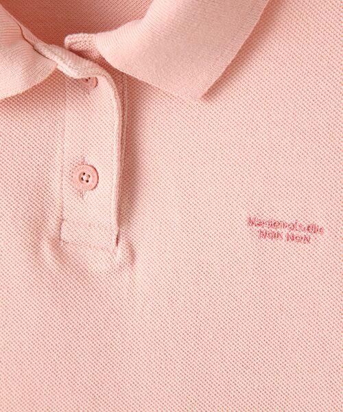 Mademoiselle NONNON / マドモアゼルノンノン ポロシャツ | コットンポロシャツ | 詳細7