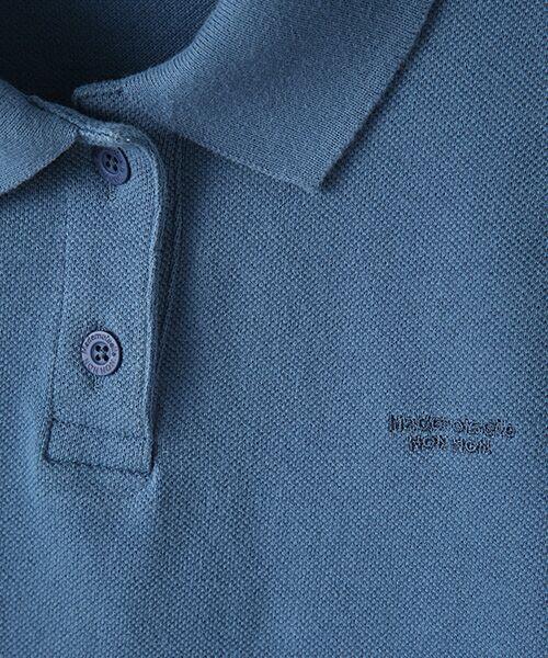 Mademoiselle NONNON / マドモアゼルノンノン ポロシャツ | コットンポロシャツ | 詳細8