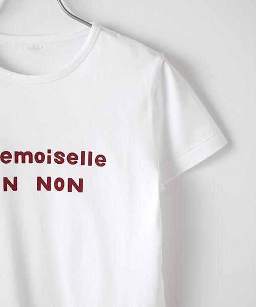 Mademoiselle NONNON / マドモアゼルノンノン Tシャツ | 定番天竺Tシャツ | 詳細2