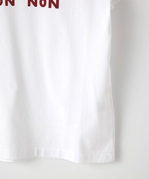 Mademoiselle NONNON / マドモアゼルノンノン Tシャツ | 定番天竺Tシャツ | 詳細3
