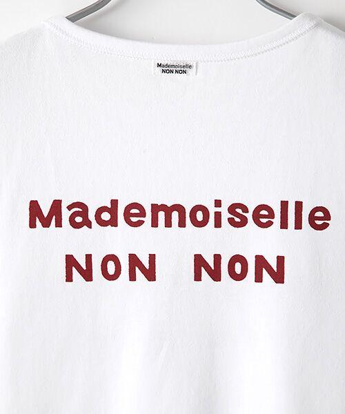Mademoiselle NONNON / マドモアゼルノンノン Tシャツ | 定番天竺Tシャツ | 詳細4