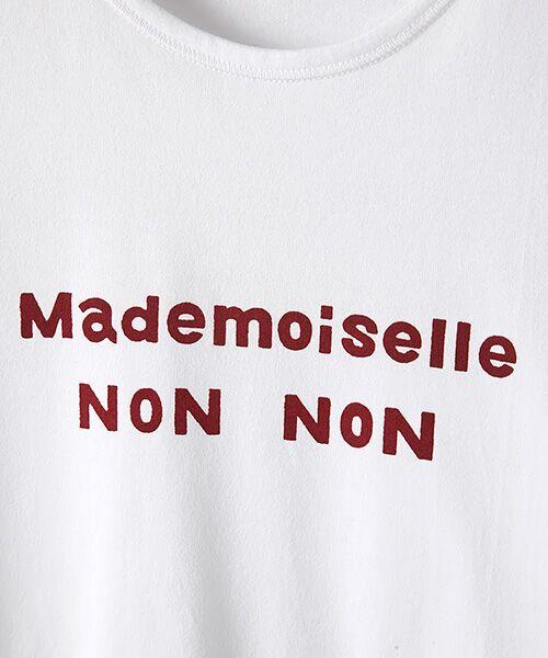 Mademoiselle NONNON / マドモアゼルノンノン Tシャツ | 定番天竺Tシャツ | 詳細5