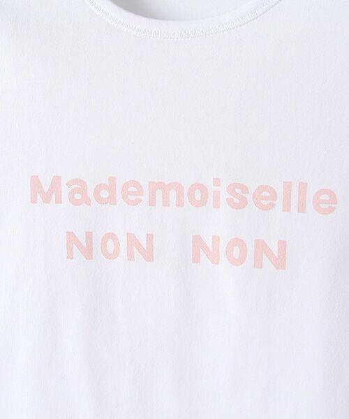 Mademoiselle NONNON / マドモアゼルノンノン Tシャツ | 定番天竺Tシャツ | 詳細6