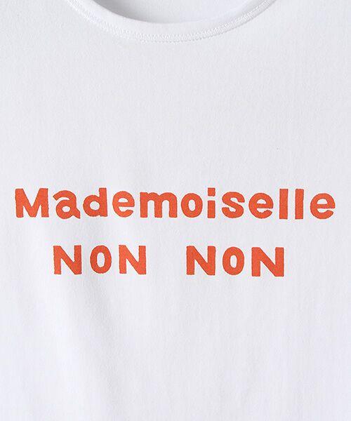 Mademoiselle NONNON / マドモアゼルノンノン Tシャツ | 定番天竺Tシャツ | 詳細7