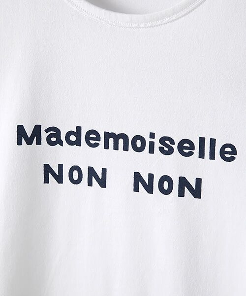Mademoiselle NONNON / マドモアゼルノンノン Tシャツ | 定番天竺Tシャツ | 詳細8