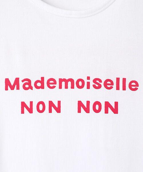 Mademoiselle NONNON / マドモアゼルノンノン Tシャツ | 定番天竺Tシャツ | 詳細9