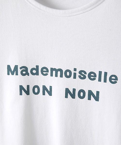 Mademoiselle NONNON / マドモアゼルノンノン Tシャツ | 定番天竺Tシャツ | 詳細10