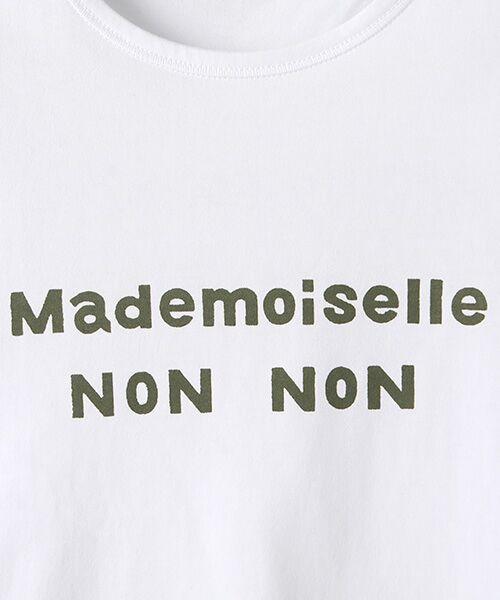 Mademoiselle NONNON / マドモアゼルノンノン Tシャツ | 定番天竺Tシャツ | 詳細11
