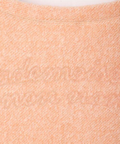 Mademoiselle NONNON / マドモアゼルノンノン スウェット | ブークレー裏毛トレーナー【ドロップショルダー/長袖】 | 詳細5
