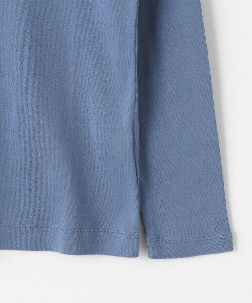 Mademoiselle NONNON / マドモアゼルノンノン Tシャツ   スーピマコットンフライス 刺繍入りTシャツ   詳細8