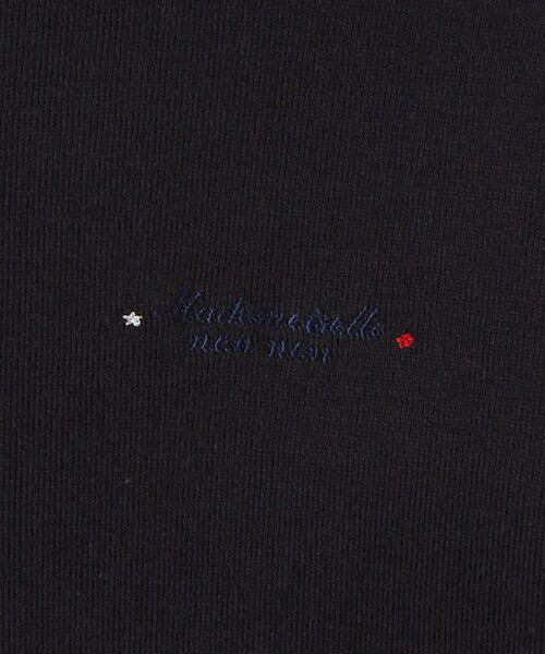 Mademoiselle NONNON / マドモアゼルノンノン Tシャツ   スーピマコットンフライス 刺繍入りTシャツ   詳細10