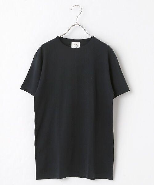 maison de F / メゾンドエフ Tシャツ | 【ガイアの夜明けでご紹介】クルーネックTシャツ(ブラック)