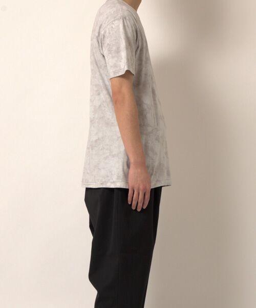 maison de F / メゾンドエフ Tシャツ | 【ガイアの夜明けでご紹介】籠染めクルーネックTシャツ | 詳細1
