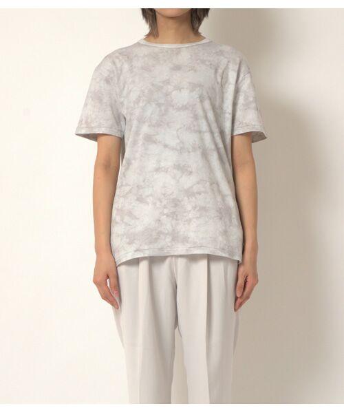 maison de F / メゾンドエフ Tシャツ | 【ガイアの夜明けでご紹介】籠染めクルーネックTシャツ | 詳細3