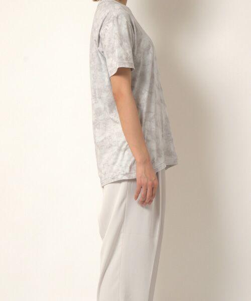 maison de F / メゾンドエフ Tシャツ | 【ガイアの夜明けでご紹介】籠染めクルーネックTシャツ | 詳細4