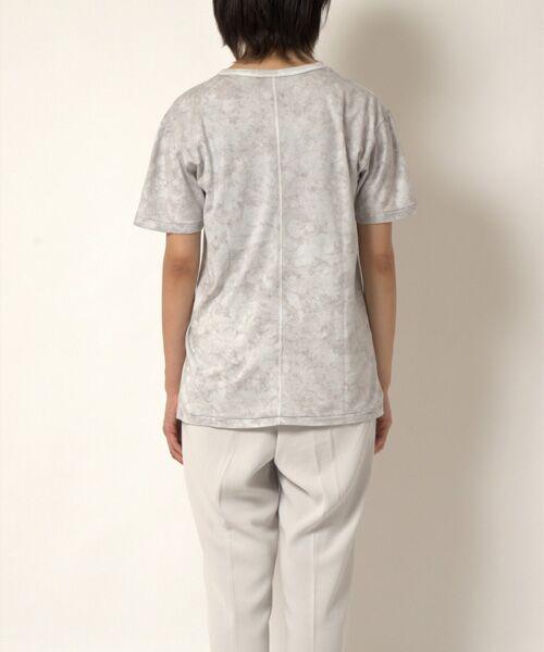 maison de F / メゾンドエフ Tシャツ | 【ガイアの夜明けでご紹介】籠染めクルーネックTシャツ | 詳細5