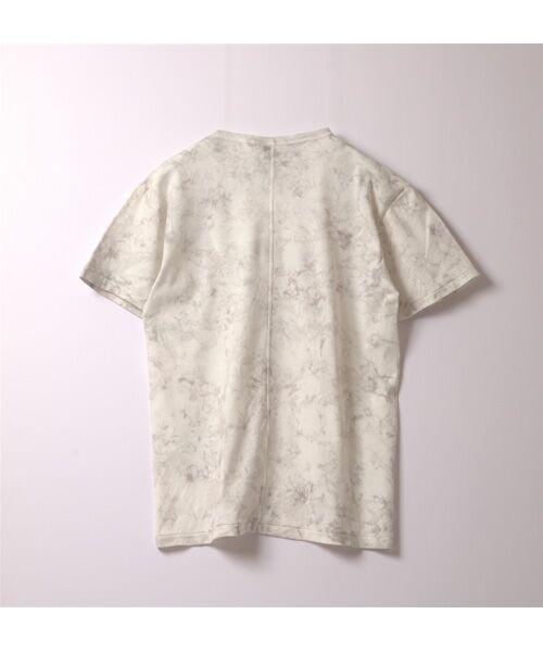 maison de F / メゾンドエフ Tシャツ | 【ガイアの夜明けでご紹介】籠染めクルーネックTシャツ | 詳細7