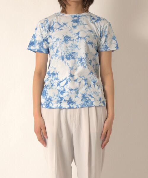 maison de F / メゾンドエフ Tシャツ | 【ガイアの夜明けでご紹介】籠染めクルーネックTシャツ | 詳細13