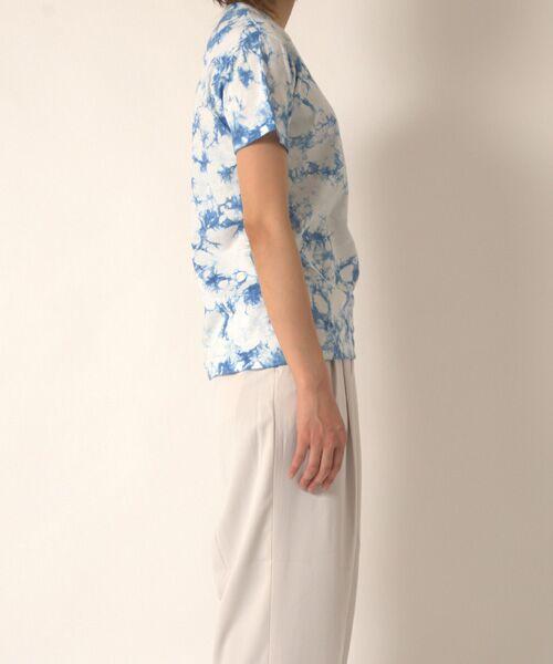 maison de F / メゾンドエフ Tシャツ | 【ガイアの夜明けでご紹介】籠染めクルーネックTシャツ | 詳細14