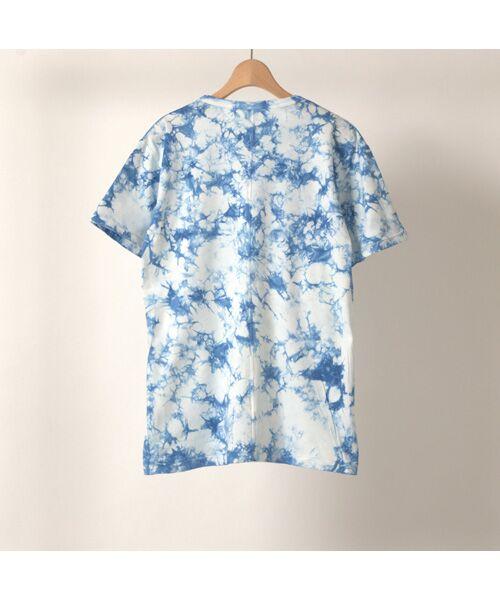 maison de F / メゾンドエフ Tシャツ | 【ガイアの夜明けでご紹介】籠染めクルーネックTシャツ | 詳細17