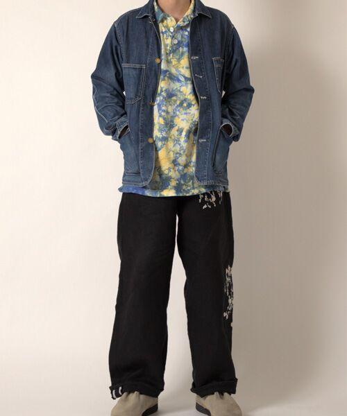 maison de F / メゾンドエフ Tシャツ | 【ガイアの夜明けでご紹介】籠染め襟付きポロTシャツ | 詳細13