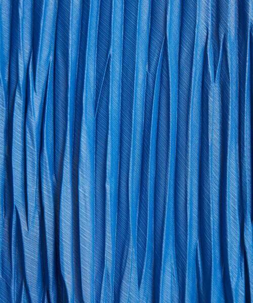 MICHEL KLEIN / ミッシェルクラン ロング・マキシ丈スカート   【洗える】チンツ加工プリーツスカート   詳細10