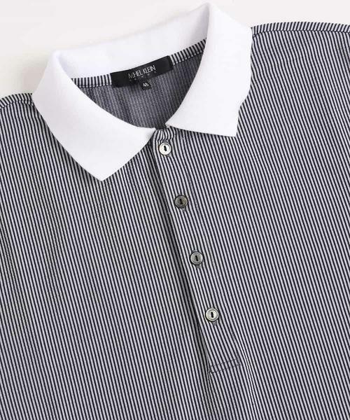 MICHEL KLEIN HOMME / ミッシェルクランオム カットソー | ポロシャツ(COOL MAXサッカー) | 詳細5