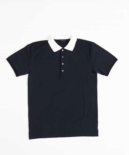 MICHEL KLEIN HOMME / ミッシェルクランオム カットソー | ポロシャツ(COOL MAXサッカー) | 詳細16